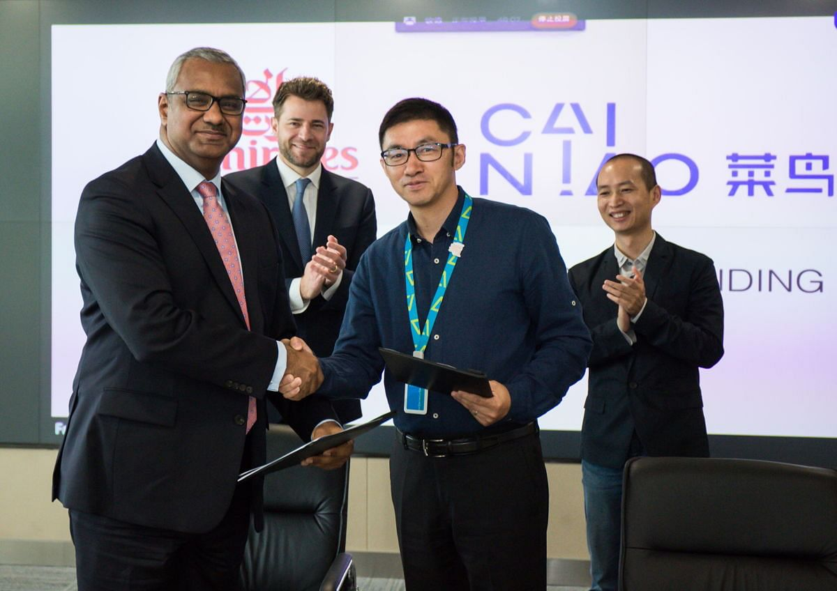 Emirates & Cainiao Sign MoU to Collaborate