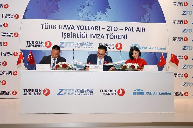 Turkish, Chinese and Hong Kong Air Carriers to Form JV