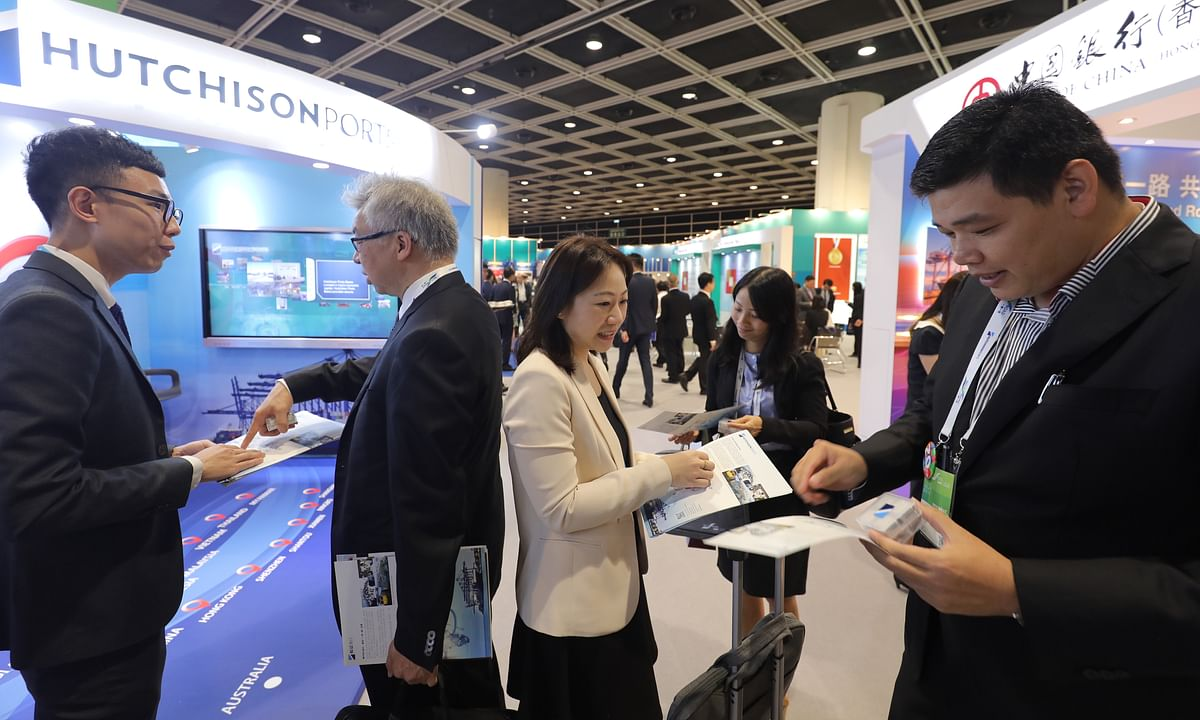 UAE Delegation Attends Belt and Road Summit in Hong Kong