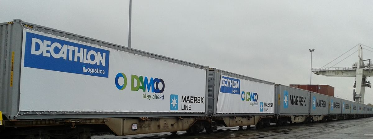 Damco Begins New Weekly East-West Rail Service