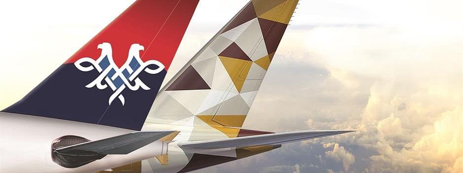 Etihad Airways to Continue Partnership with Air Serbia