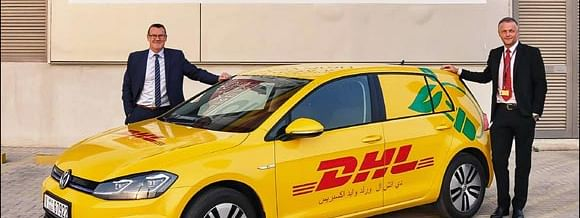 DHL Bring E-Cars to Dubai