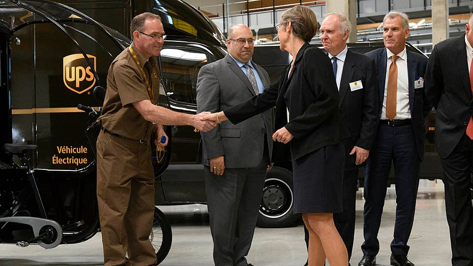 UPS Makes Record Investment in New Hub