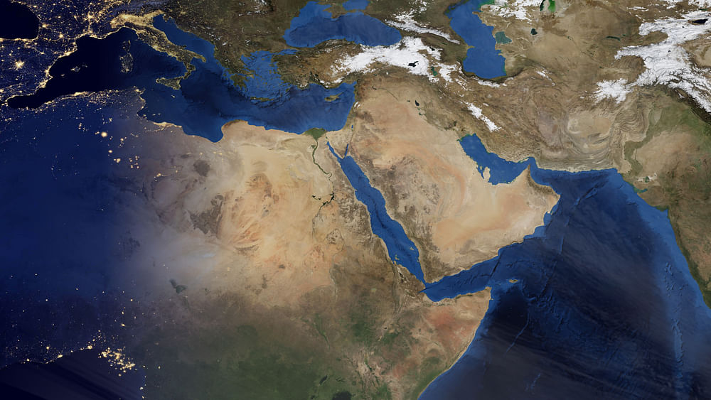 China Pledges $20 Billion to Middle East