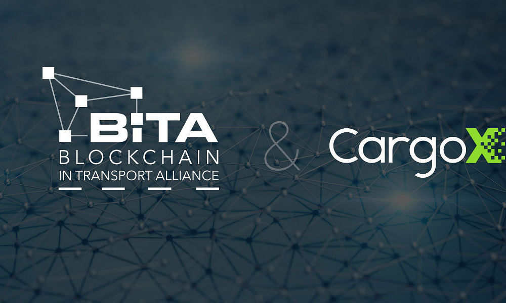 CargoX, Maker of Blockchain-based Smart B/L, Joins BiTA