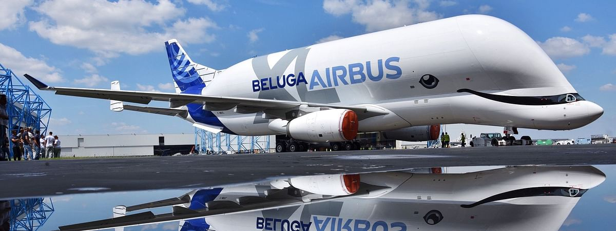 First Airbus BelugaXL Rolls Out of Paintshop