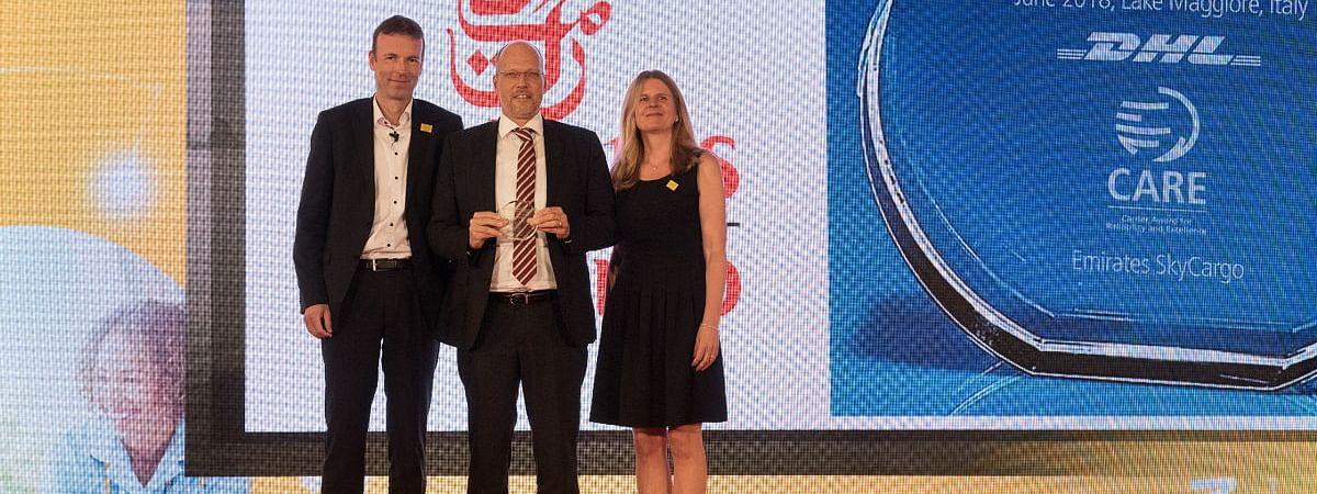 Emirates SkyCargo Awarded for Exceptional Pharma Services