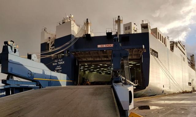 Bahri Starts New Service at Port of Le Havre