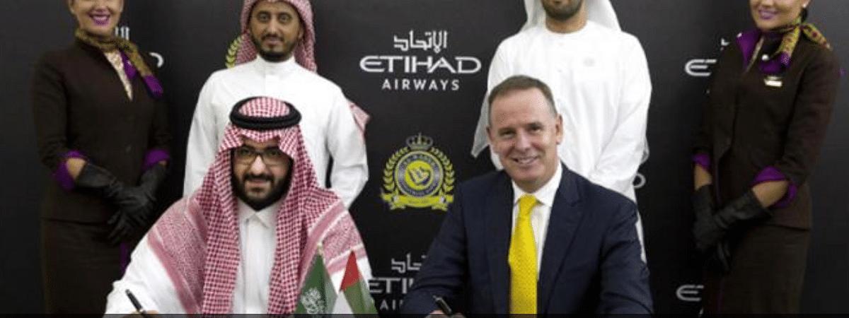 Etihad Airways and Al Nassr FC Announce Partnership