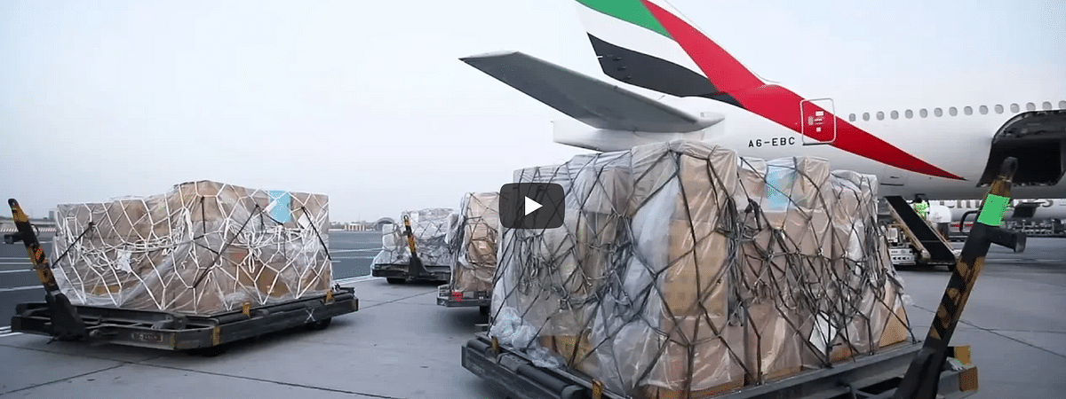 Watch: Emirates Provides Aid in Indian Floods