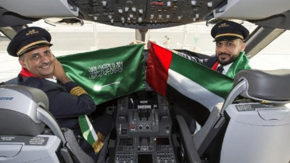 Etihad Celebrates Saudi-UAE Ties