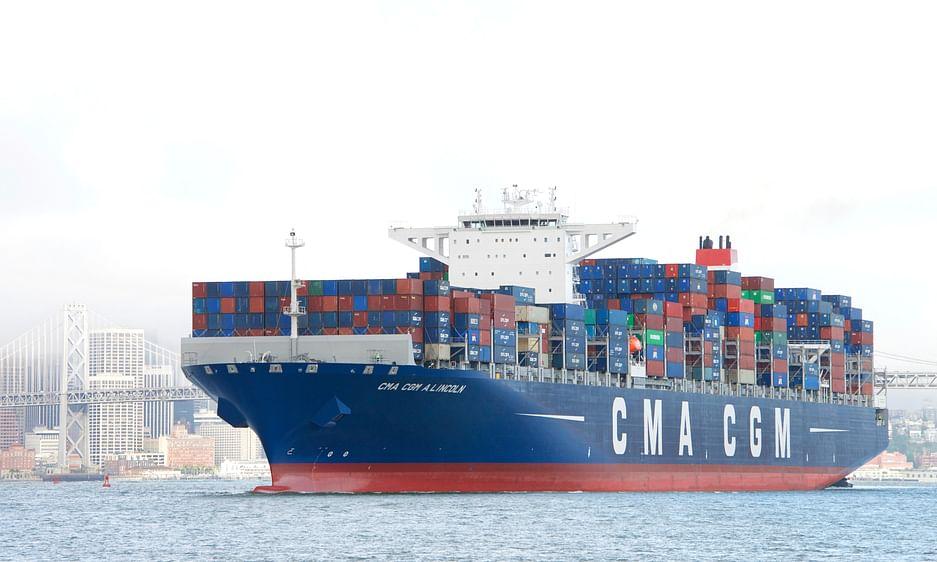 CMA CGM Profits Crash