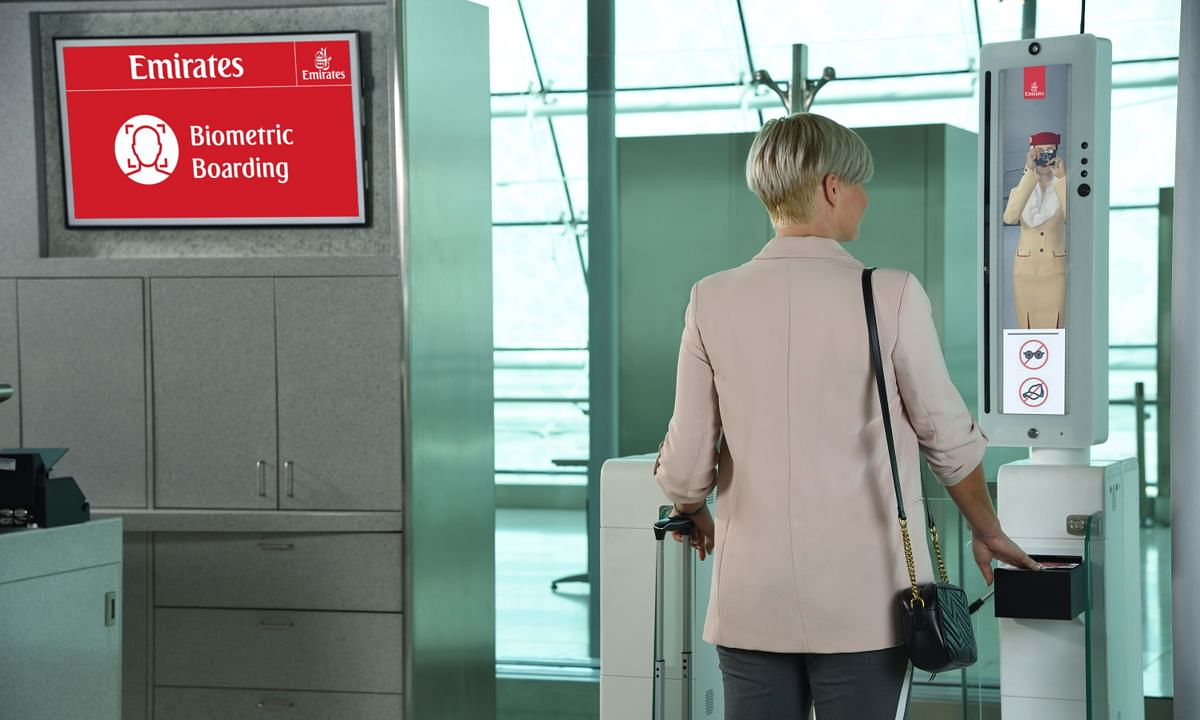 Emirates Reveals Biometric Check-In Path