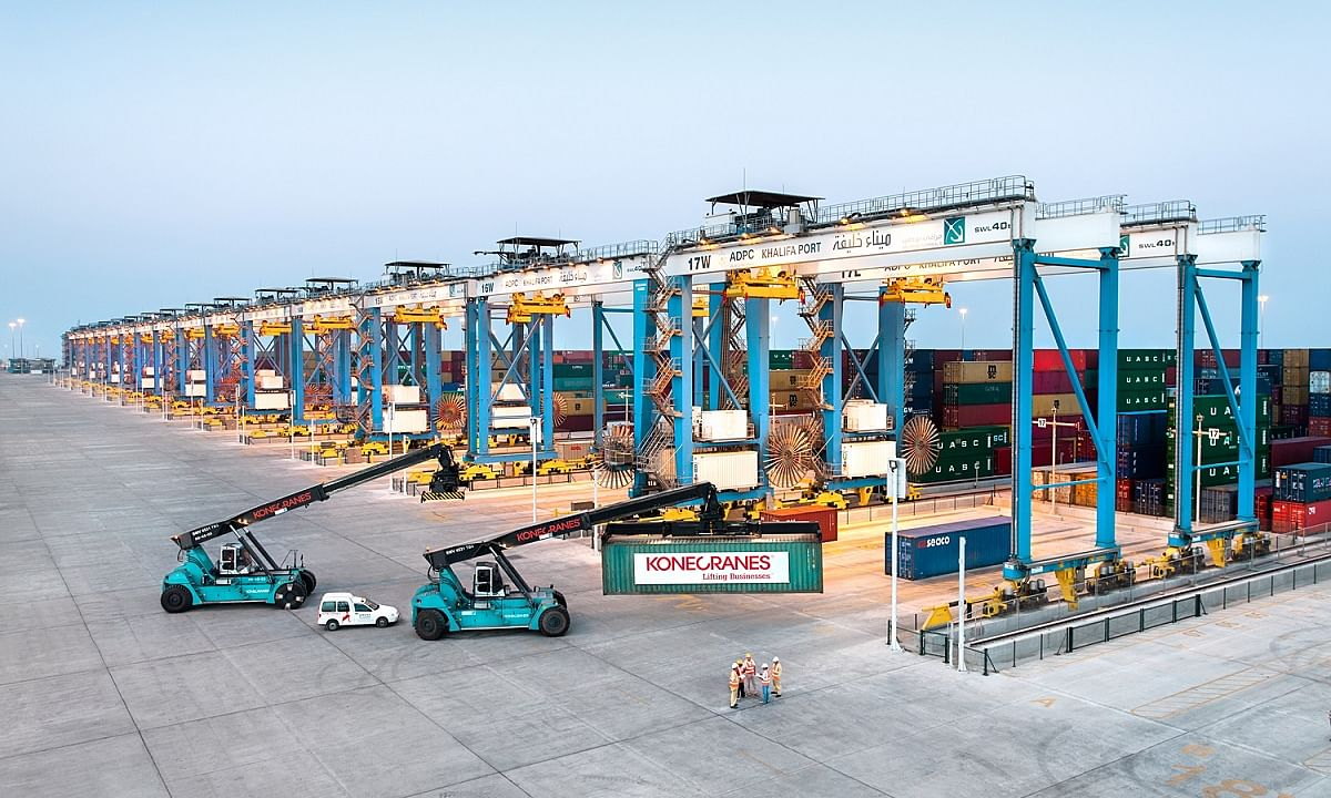 Konecranes Wins ASC Contract for Khalifa Port Terminal