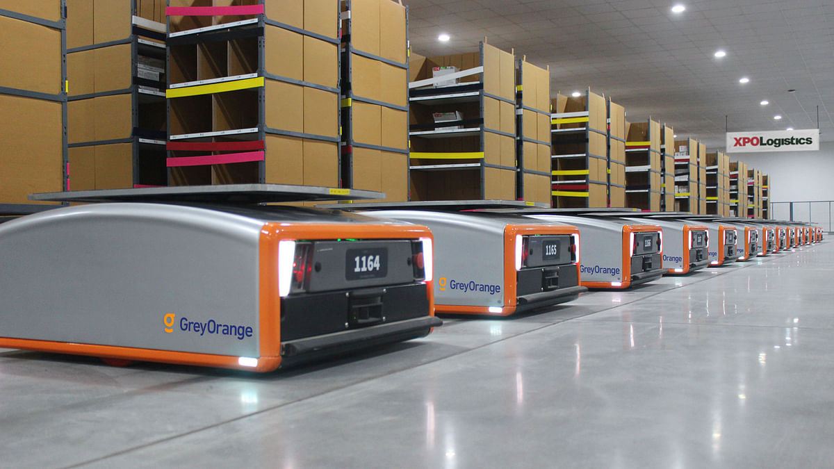 XPO  to Deploy 5,000 Collaborative Warehouse Robots