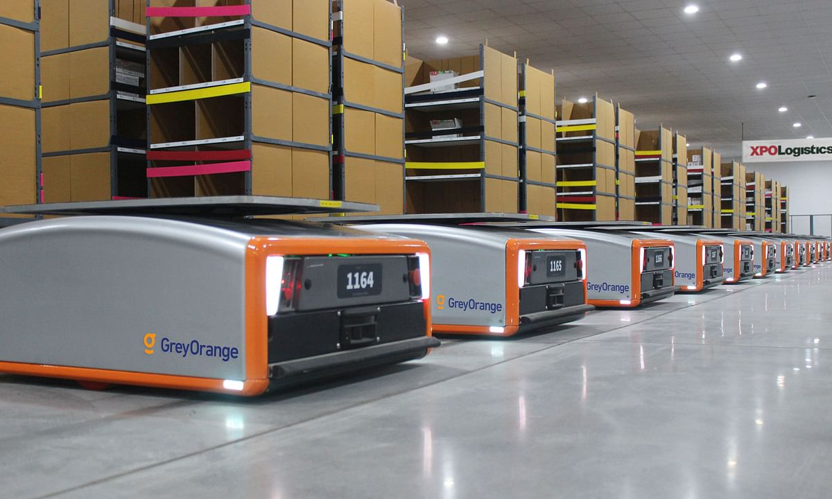 XPO  to Deploy 5,000 Collaborative Warehouse Robots