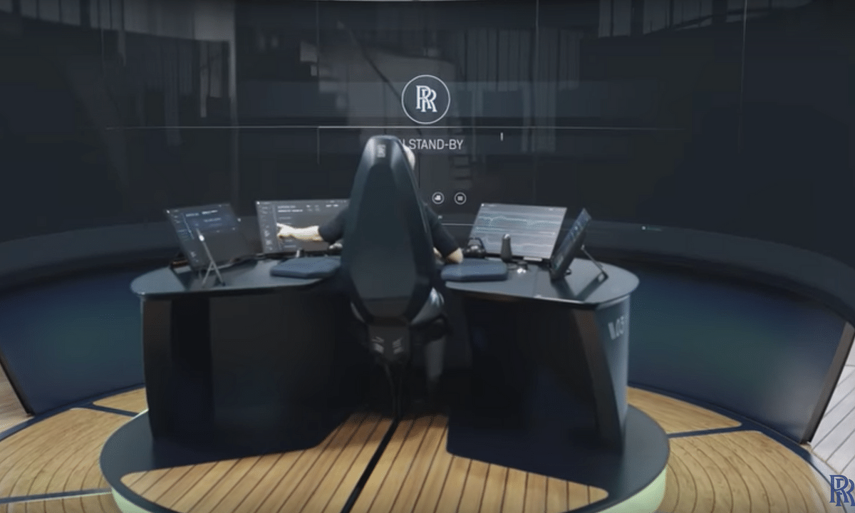 Watch: Rolls-Royce Reveal Remote Vessel Operating Centre