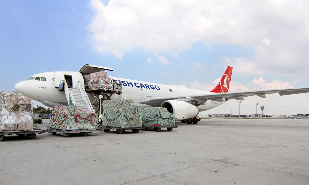 Turkish Cargo Preparing For  New Home