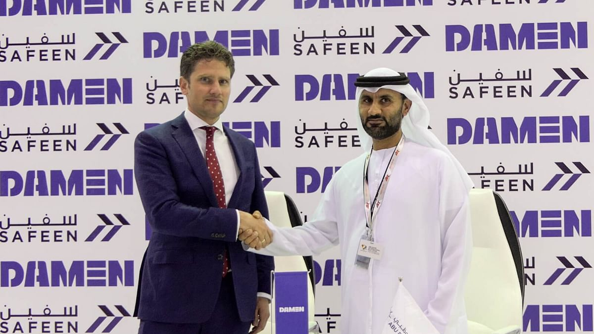 Abu Dhabi Ports & Damen Shipyards Sign Contract for Two Tugs