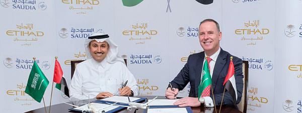 Saudia and Etihad Airways Announce Codeshare Partnership