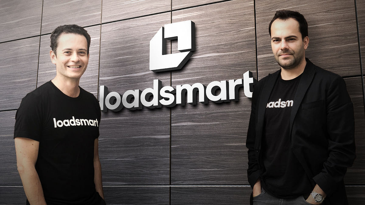 Loadsmart co-founders Ricardo Salgado and Felipe Capella