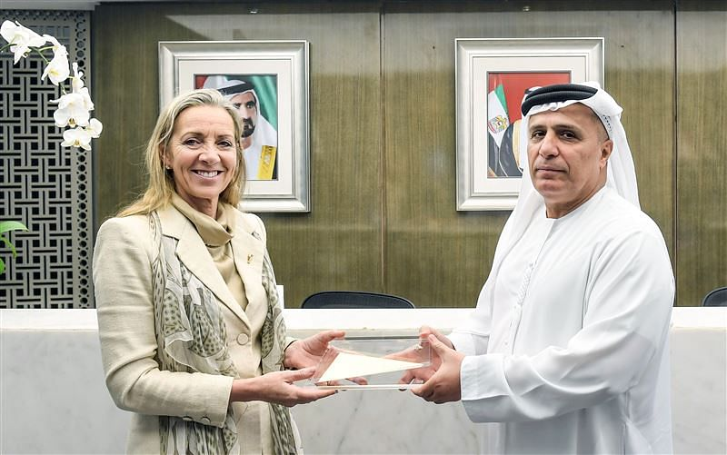 Baroness Fairhead and HE Al Tayer