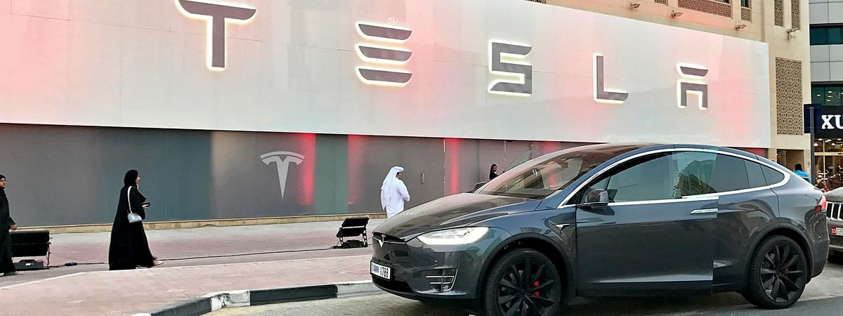 Now Check Out Tesla Models at Mall of the Emirates