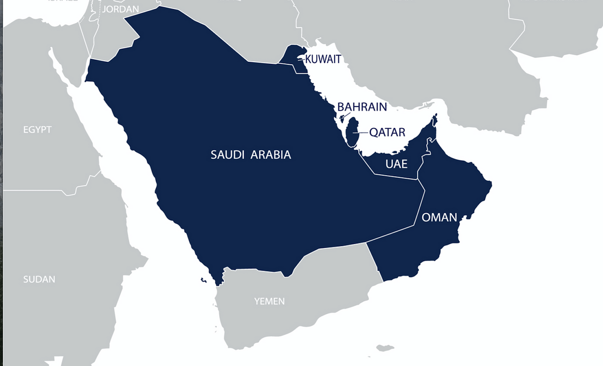 The GCC countries