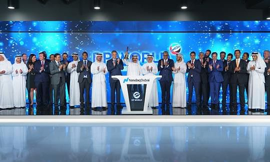 DPW Chief Opens Nasdaq Dubai in $3 Billion Celebration