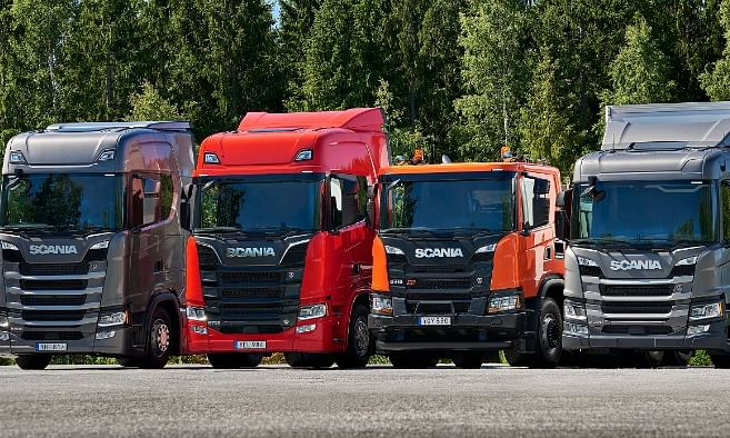 Scania's New  Generation Trucks  Now in the Middle East
