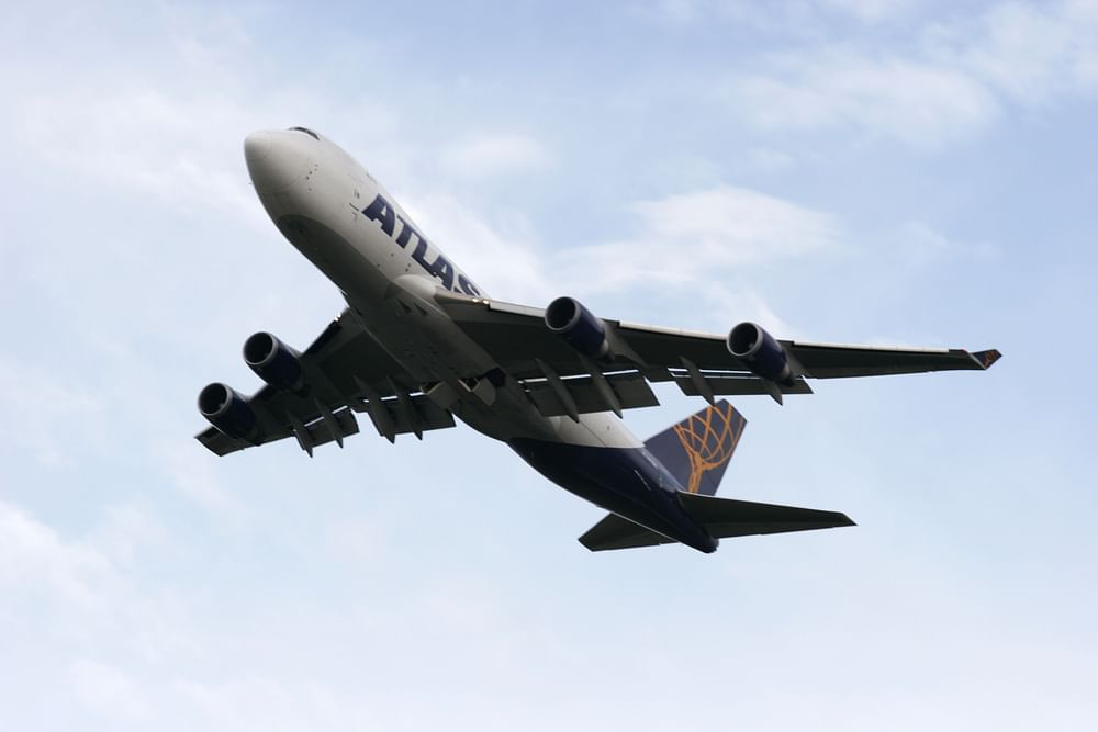 The Atlas Air 747