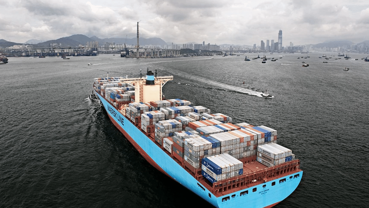 Maersk Upgrades Biggest Liner Route