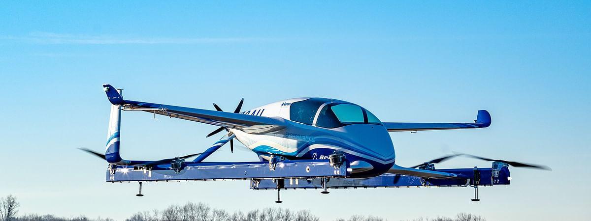 Boeing Autonomous Passenger Air Vehicle Completes First Flight