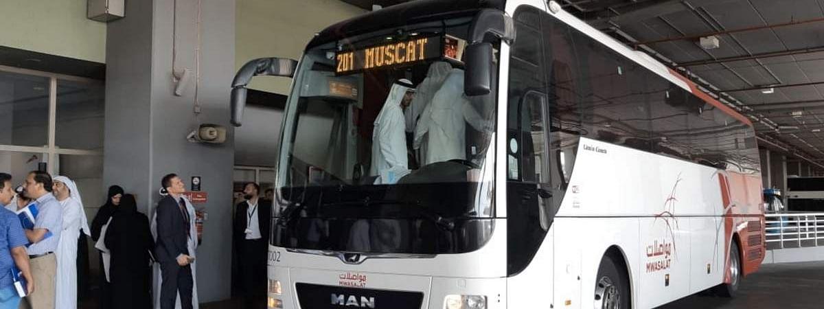 RTA and MWASALAT Oman Launch  Dubai-Muscat Bus Route