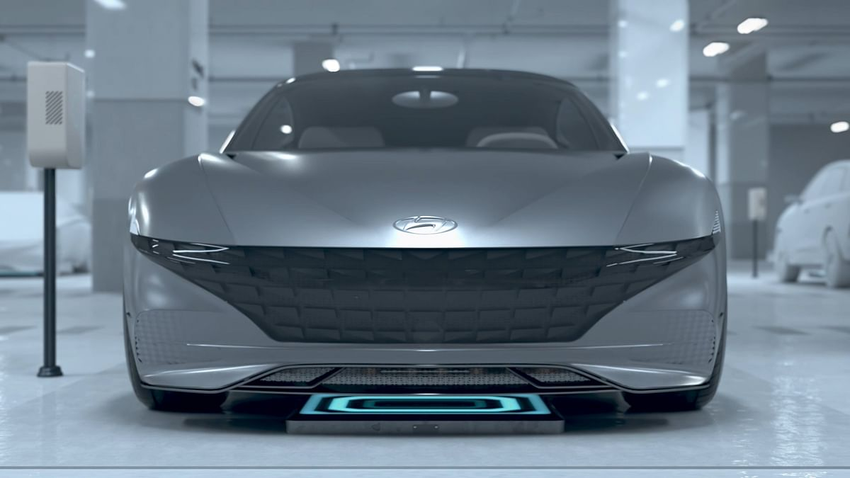 Hyundia Reveals New Electric Vehicle Charging System