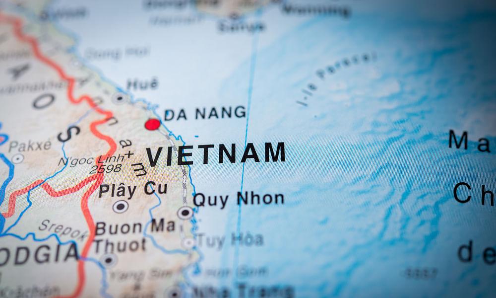 Vietnam Handles Largest Ever Ship