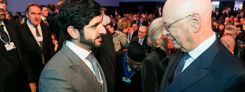 Dubai Prince Leads Big Trade Talks at WEF