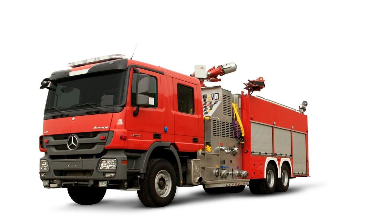Bristol Unveils Made in UAE FireTruck