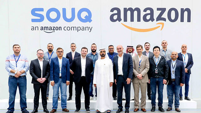 HH Sheikh Mohammed Visits Huge Dubai SOUQ Centre