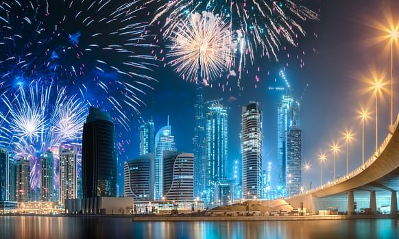 Watch: Dubai Welcomes in 2019 in Spectacular Style
