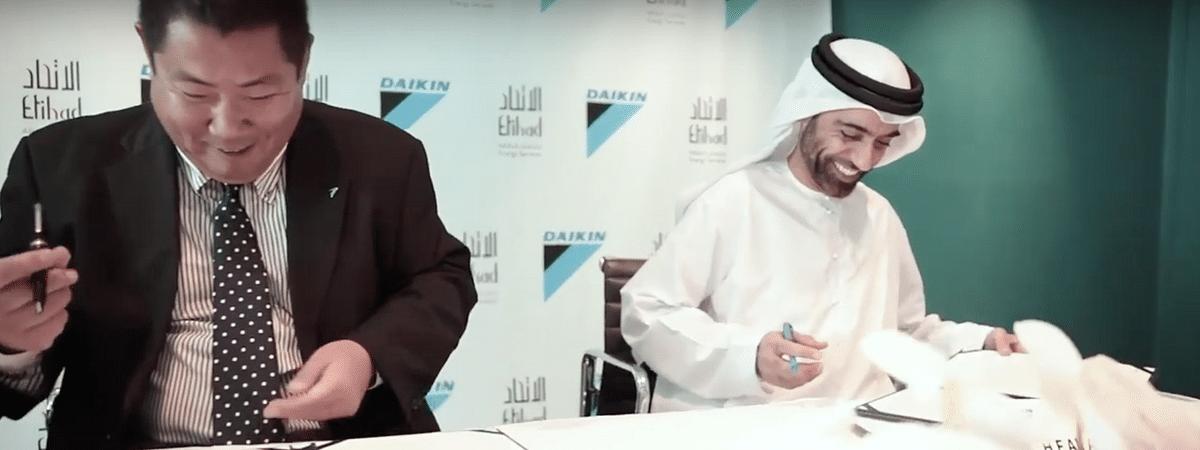 Etihad ESCO & Daikin Secure JAFZA Project