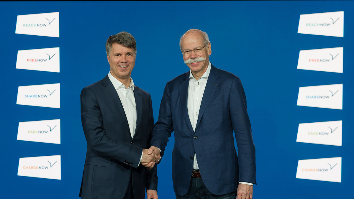 Daimler, BMW  Investing €1 Billion to Develop Mobility Apps