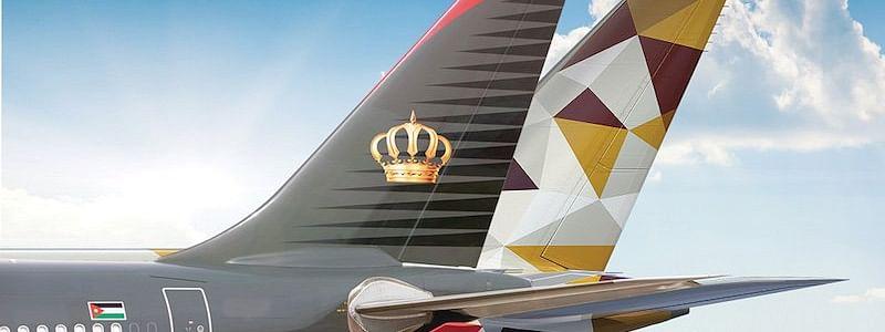 Etihad Airways, Royal Jordanian Announce New Codeshare Deal