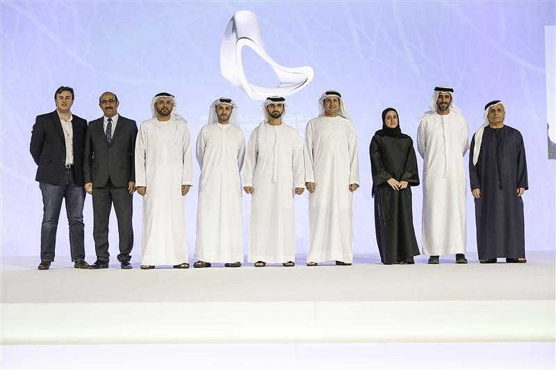 Sheikh Hamdan at the Awards
