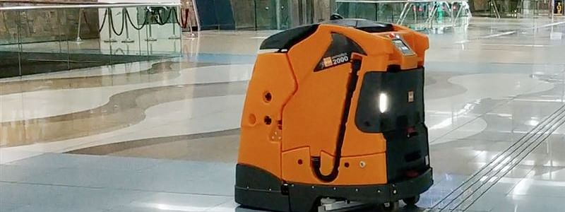 Dubai RTA Using Robots to Clean Metro Stations