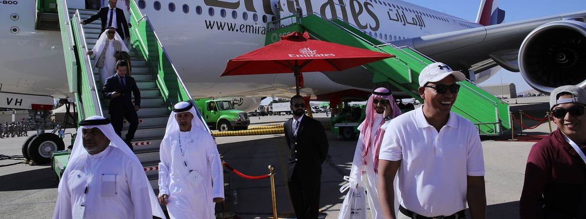 Emirates A380 Sees Over 3000 Visitors at  Saudi Int'l Airshow