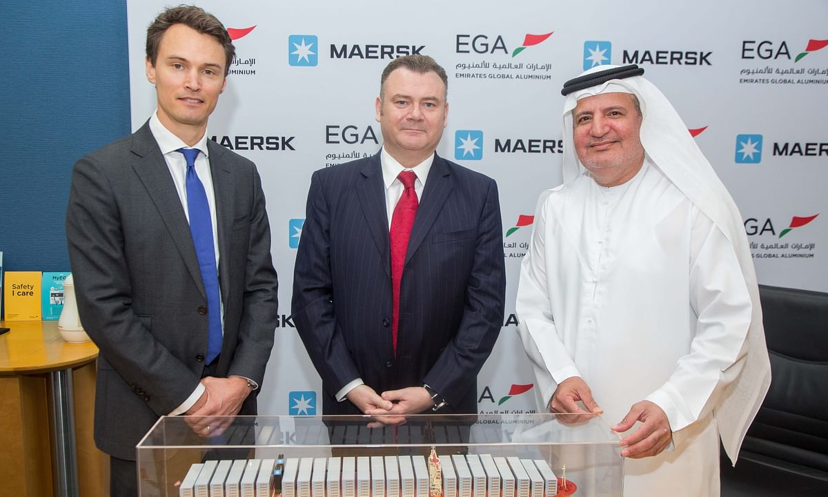EGA Extends Volume Commitment with Maersk