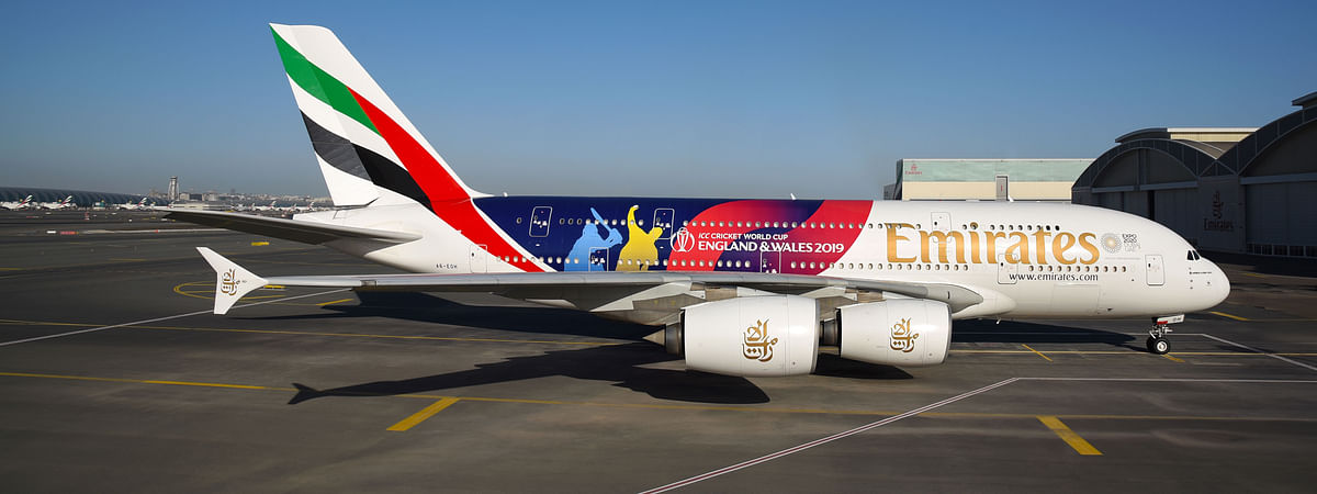 Emirates Reveals ICC Cricket World Cup Livery