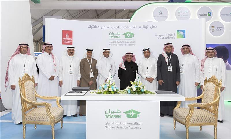 Emirates Flight Training Academy signs MoU with TAYARAN