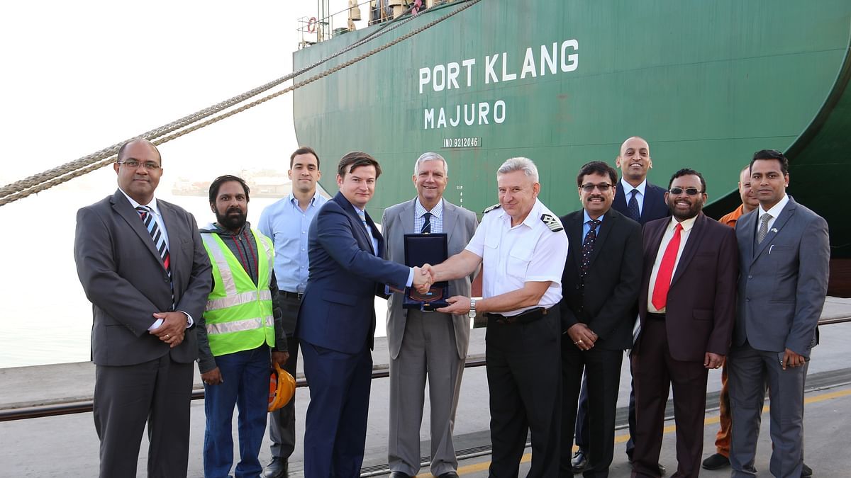 Sharjah Container Terminal Welcomes MV Port Klang